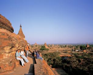 ミャンマーのオールドバガン遺跡の写真素材 [FYI00366008]