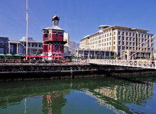 ケープタウンの時計塔の写真素材 [FYI00366082]