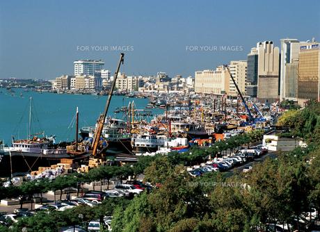 ドバイの港の写真素材 [FYI00366087]