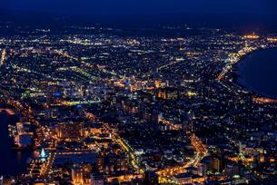 冬の函館山より100万ドルの夜景の素材 [FYI00366108]
