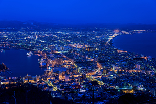 冬の函館山より100万ドルの夜景の素材 [FYI00366115]