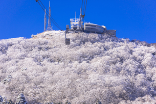 函館山ロープウエー雪景色の素材 [FYI00366123]