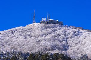 函館山ロープウエー雪景色の素材 [FYI00366135]