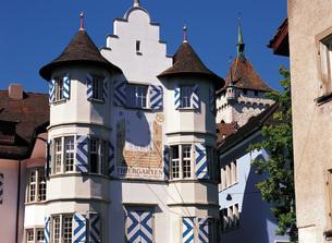 スイスの古都シャウハウゼンの素材 [FYI00366196]