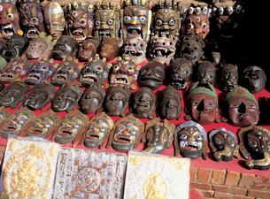 ネパールの土産品の写真素材 [FYI00366264]