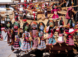 ネパールの土産品の写真素材 [FYI00366271]