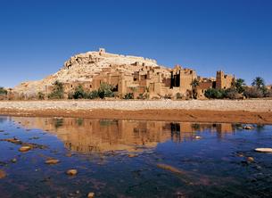 モロッコのアイトベンハッドゥの写真素材 [FYI00366393]