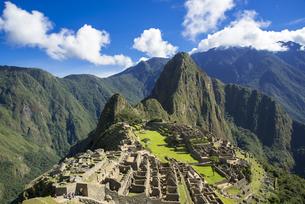 インカ帝国のマチュピチュ遺跡の素材 [FYI00366848]