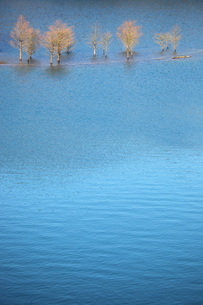 青い湖の写真素材 [FYI00367219]