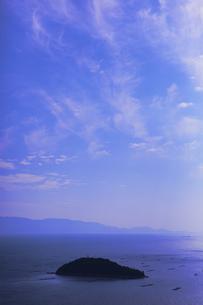 瀬戸内海の島の写真素材 [FYI00367231]