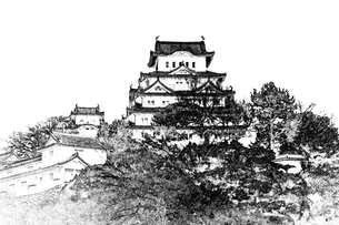姫路城の写真素材 [FYI00367251]