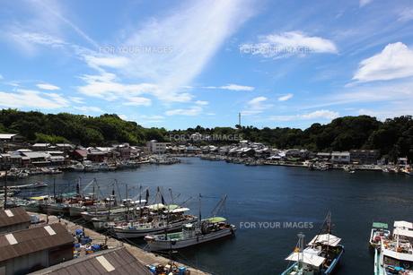 瀬戸内の漁港の写真素材 [FYI00367271]