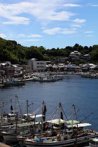 瀬戸内の小さな港町の写真素材 [FYI00367276]