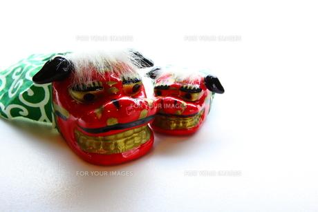 獅子舞の写真素材 [FYI00367483]
