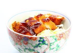 ソースカツ丼の写真素材 [FYI00367613]