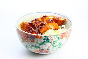 ソースカツ丼の写真素材 [FYI00367618]