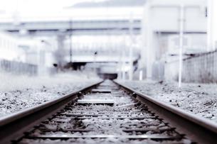 線路の写真素材 [FYI00367729]