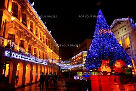 異国のクリスマス-マカオの写真素材 [FYI00368119]