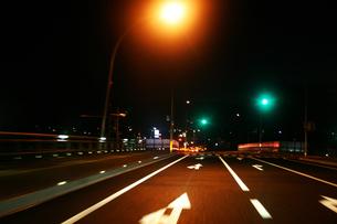 夜のドライブの素材 [FYI00368152]