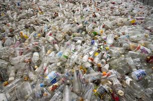 ガラスの廃棄物の写真素材 [FYI00368194]
