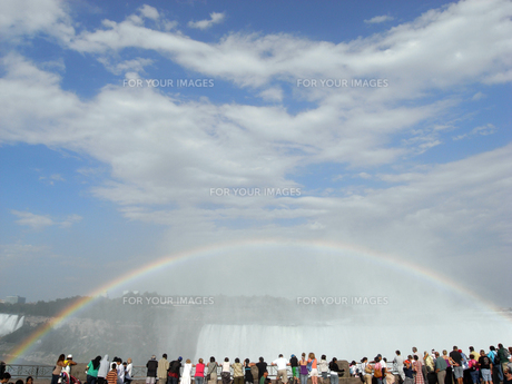 観光地の虹の素材 [FYI00368280]