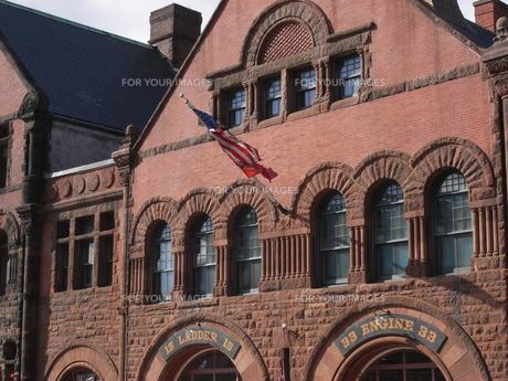 ボストンの消防所の写真素材 [FYI00368315]