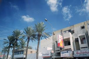 バグダッドのダウンタウン、空と街並みの写真素材 [FYI00368446]