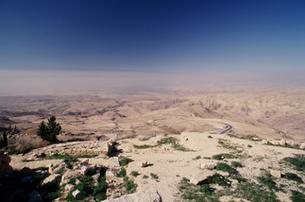 マウントネボから望んだイスラエル方向の写真素材 [FYI00368449]