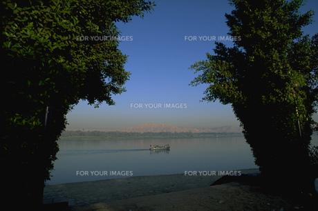 ルクソールを流れるナイル川の写真素材 [FYI00368458]
