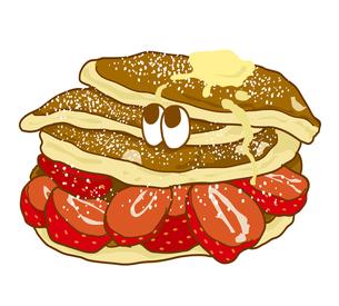 パンケーキの写真素材 [FYI00368502]