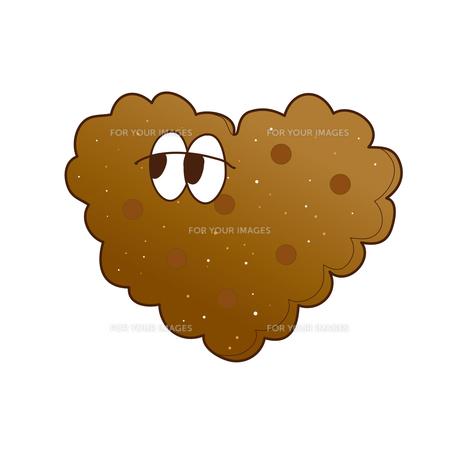 チョコクッキーの写真素材 [FYI00368506]