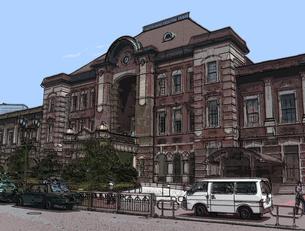 東京駅の写真素材 [FYI00368546]