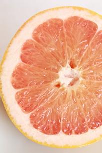ピンクグレープフルーツの断面の写真素材 [FYI00368611]