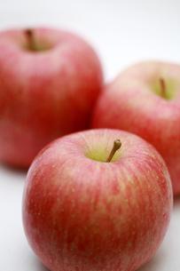 ふじりんごアップの写真素材 [FYI00368615]