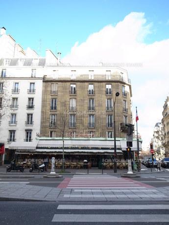 パリ・モンパルナスの風景の写真素材 [FYI00368699]