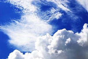 青空と入道雲の素材 [FYI00368790]