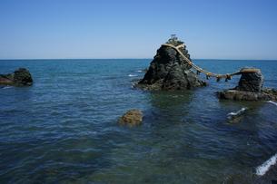 夫婦岩の写真素材 [FYI00368970]