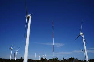 青山高原の風力発電の素材 [FYI00368999]