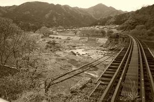 名松線と家城ラインの写真素材 [FYI00369031]
