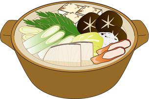 鍋★パス切り済みの写真素材 [FYI00369357]