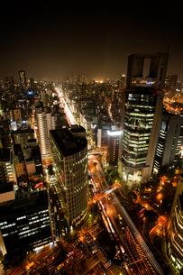 梅田第三ビルからの夜景の写真素材 [FYI00369702]