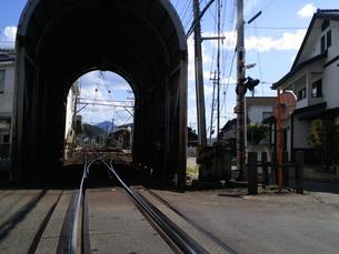 線路の風景の写真素材 [FYI00369726]