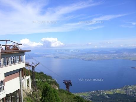 琵琶湖バレーの写真素材 [FYI00369849]