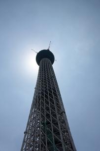 そびえたつ東京スカイツリータテの写真素材 [FYI00369871]