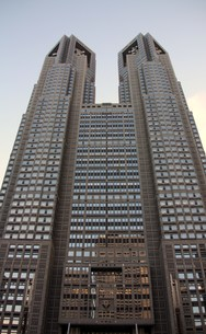 東京都庁舎の写真素材 [FYI00369879]
