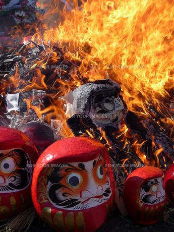新春七草厄祓い火焚き祭Aの素材 [FYI00369915]