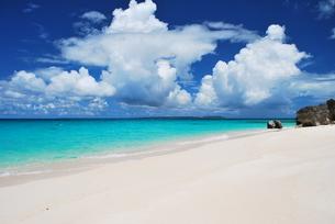 島の海と空の素材 [FYI00369992]