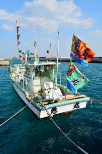 宮古島/佐良浜漁港の旧正月の素材 [FYI00376121]