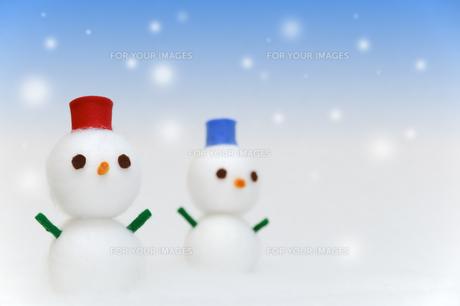 雪だるまの写真素材 [FYI00376605]