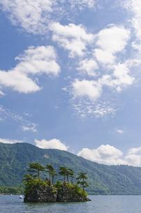 十和田湖 恵比須島の写真素材 [FYI00376620]